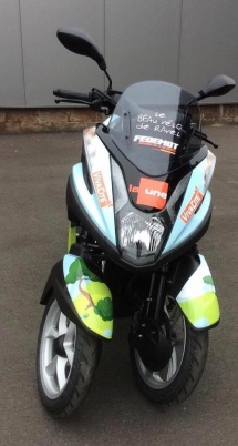 lettrage scooter tricity fedemot
