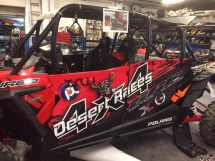 Lettrage sur mesure POLARIS RZR